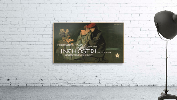 Federazione Italiana Chimico Industriale Padova Inchiostri Da Scrivere Poster