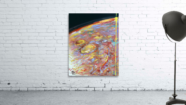 Worlds First Martianpressionist Painting