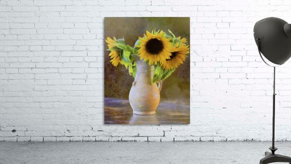 It's What Sunflowers Do - Flower Art by Jordan Blackstone