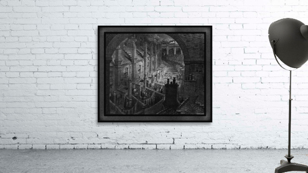 Over London by Rail by Gustave Dore Classical Fine Art Xzendor7 Old Masters Reproductions
