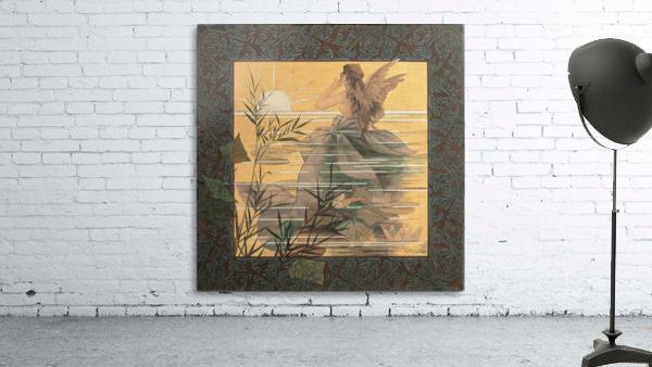 Alexandre-de-Riquer---Winged-nymph-at-sunrise