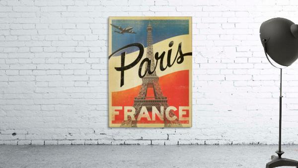 Paris France Vintage Poster