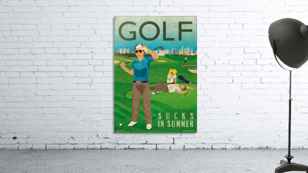 Golf sucks in summer