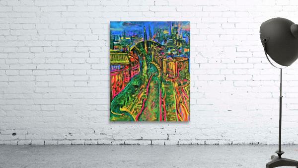 Vegetarian City Art Print