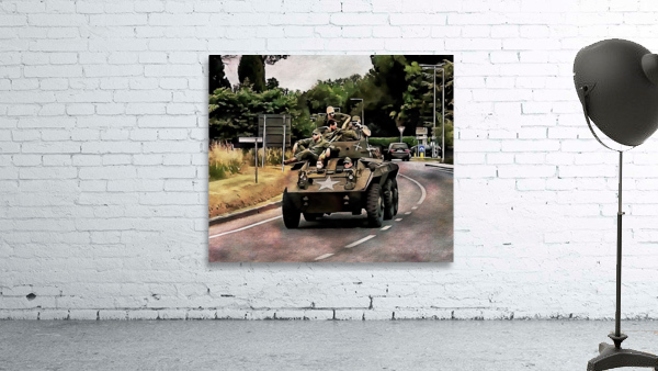 Six Wheeled Armoured Vehicle