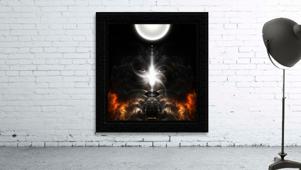 Isis Revealed Mystical Fractal Art Composition by Xzendor7