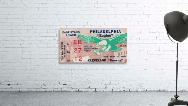 1961 Philadelphia Eagles vs. Cleveland Browns