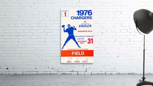 1976 San Diego Chargers vs. Philadelphia Eagles