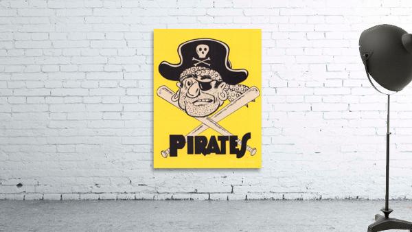 Vintage Sixties Pittsburgh Pirates Art