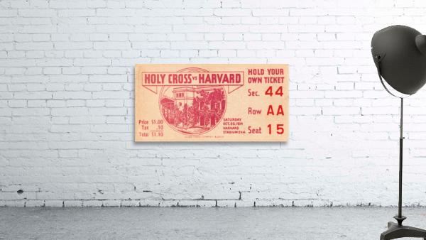 1934 Holy Cross vs. Harvard