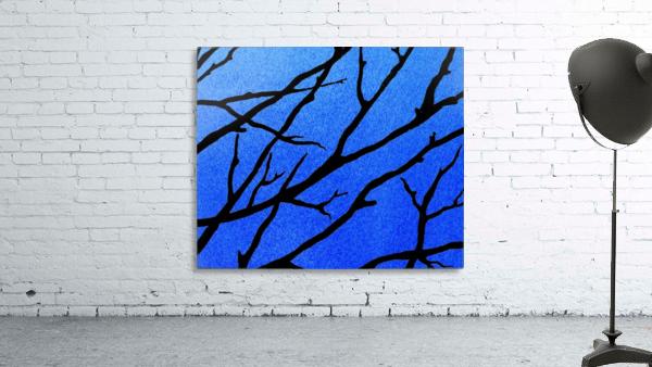 Ultramarine Forest Winter Blues II