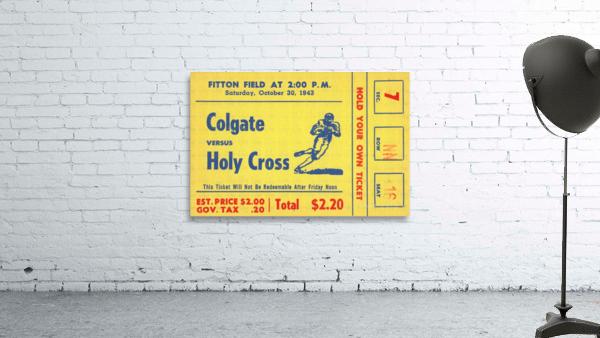 1943 Colgate vs. Holy Cross