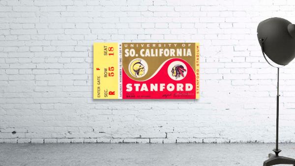 1962 Stanford Indians vs. USC Trojans