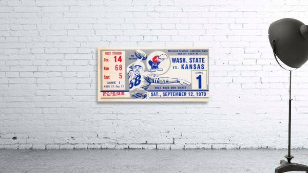 1970 Kansas Jayhawks vs. Washington State Cougars