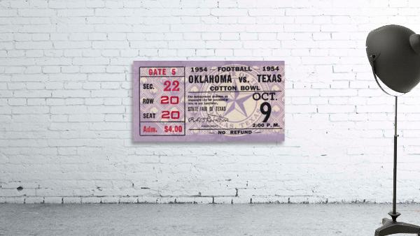 1954 Oklahoma Sooners vs. Texas Longhorns