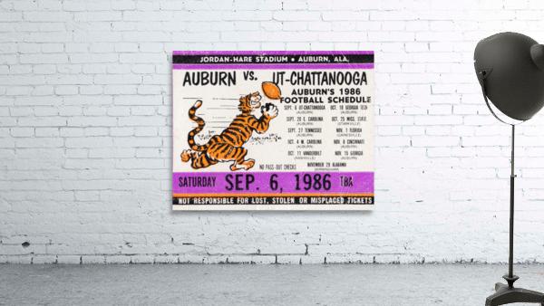 1986 Auburn Tigers vs. Chattanooga Mocs