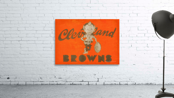 Vintage Cleveland Browns Wall Art