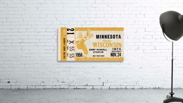 1956 Wisconsin Badgers vs. Minnesota Golden Gophers