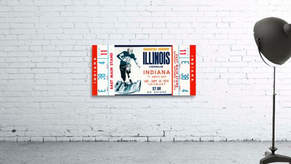 1974 Indiana Hoosiers vs. Illinois Fighting Illini