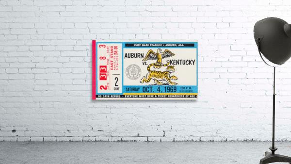 1969 Kentucky Wildcats vs. Auburn Tigers