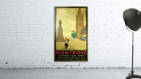 Montrose vintage travel poster