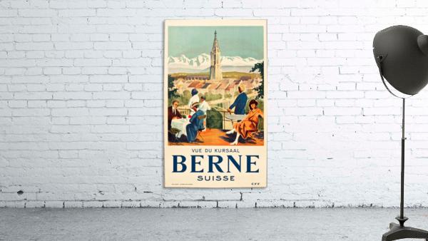 Bern, Switzerland Travel Poster