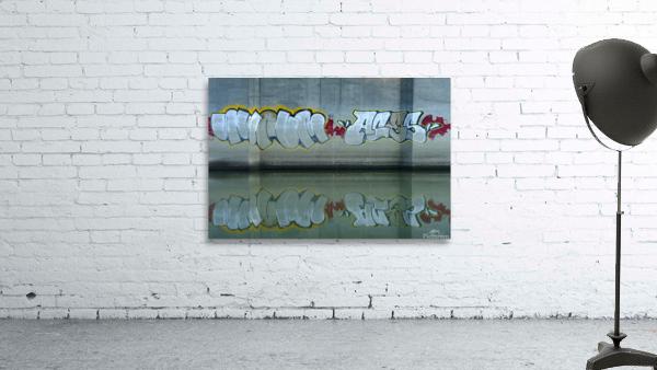 Reflet sous un pont - Reflection under a bridge