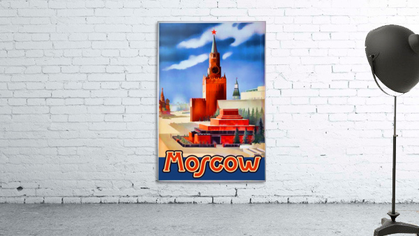 Imperial Airways travel poster for Moscow
