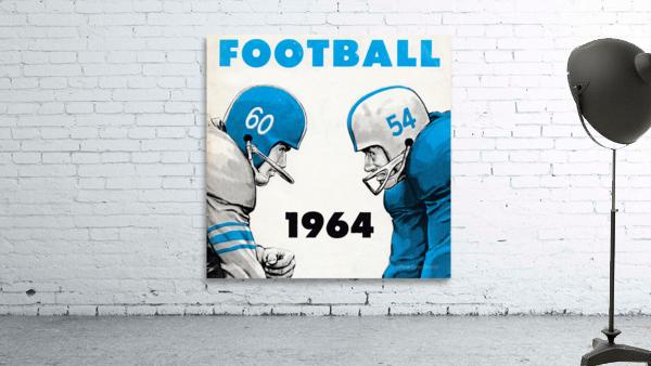 1964 Linemen Football Art
