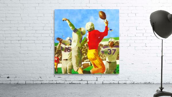 1947 Vintage Football Art Gift Idea