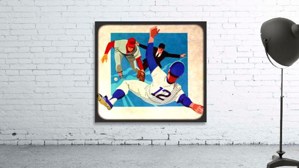 1981 Retro Viewfinder Slide Baseball Art