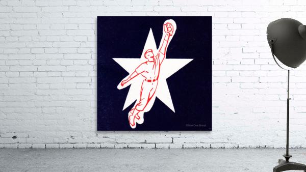 1953 Baseball Star Art