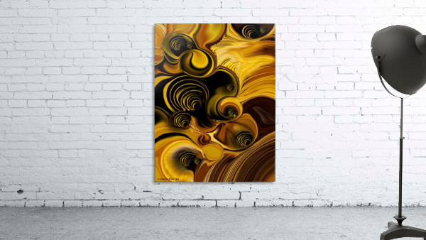 Abstraction with Meditation Print