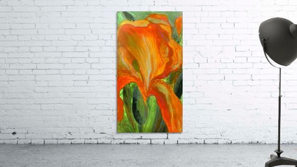Polyptic with irises 2 by Vali Irina Ciobanu
