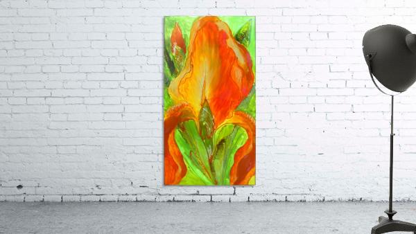Polyptic with irises 4 by Vali Irina Ciobanu