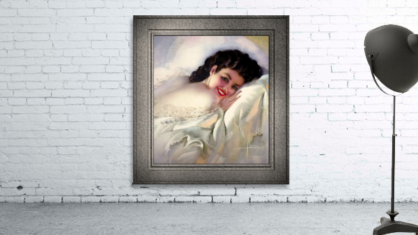Sweet Dreams by Rolf Armstrong Vintage Illustration Xzendor7 Art Reproductions