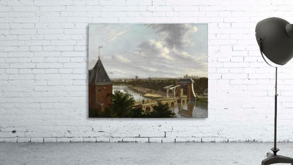 De Torensluis met de Jan Roodenpoortstoren te Amsterdam, 1829