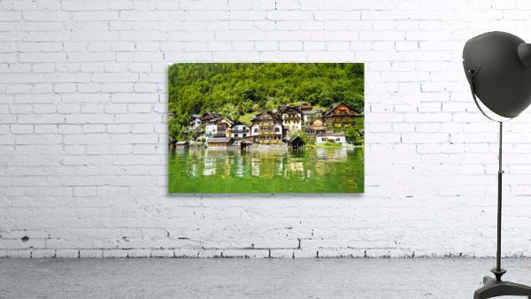 Snapshot in Time Hallstatt in the Upper Austria Alps 1 of 3