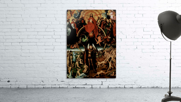 The Last Judgment, triptych, central panel
