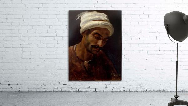 Head of an Arab