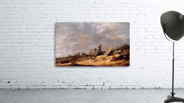 Dune Landscape with animals