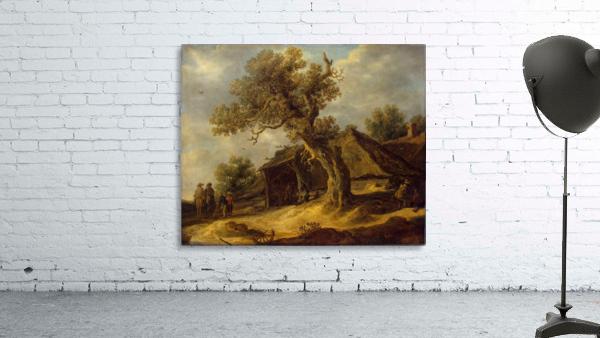 Landscape with Oak