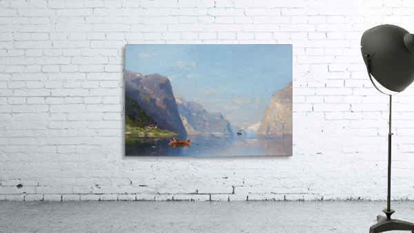 Two Norwegian Fjord Landscapes