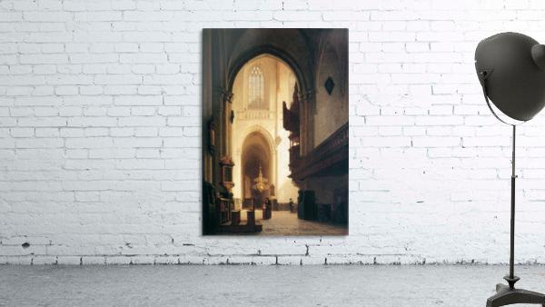 Hooglandse Kerk Leiden Sun