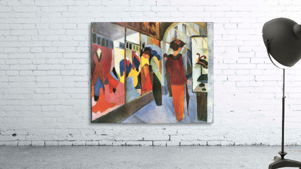 Fashion Store by August Macke