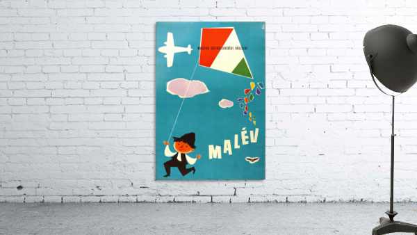 Malev Hungarian Airlines poster