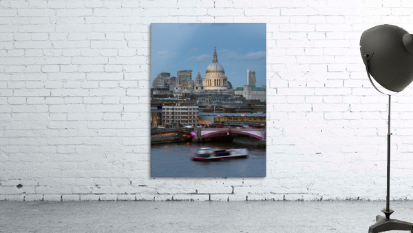 St. Paul's Cathedral and Blackfriars; London, England