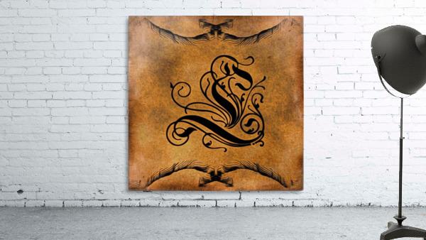 Beautiful Monogram Letter L