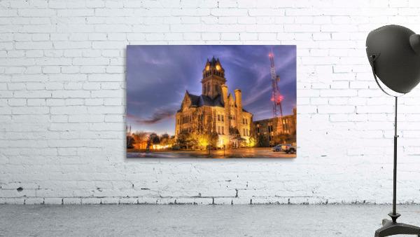 Twilight Courthouse