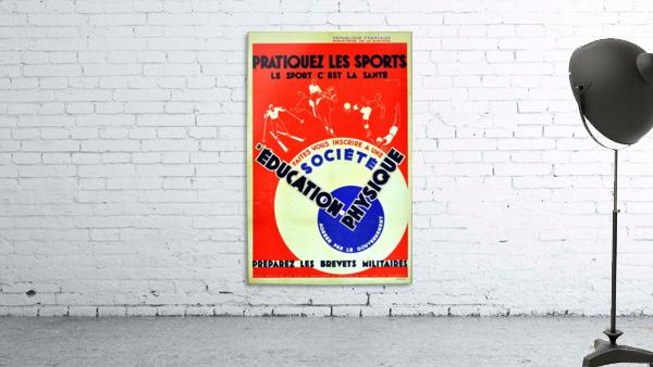 Original 1932 Art Deco Sport Poster